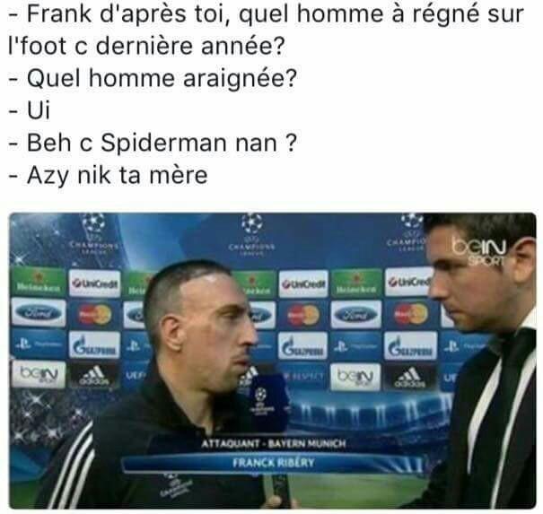 Ribéry - Le Retour - meme