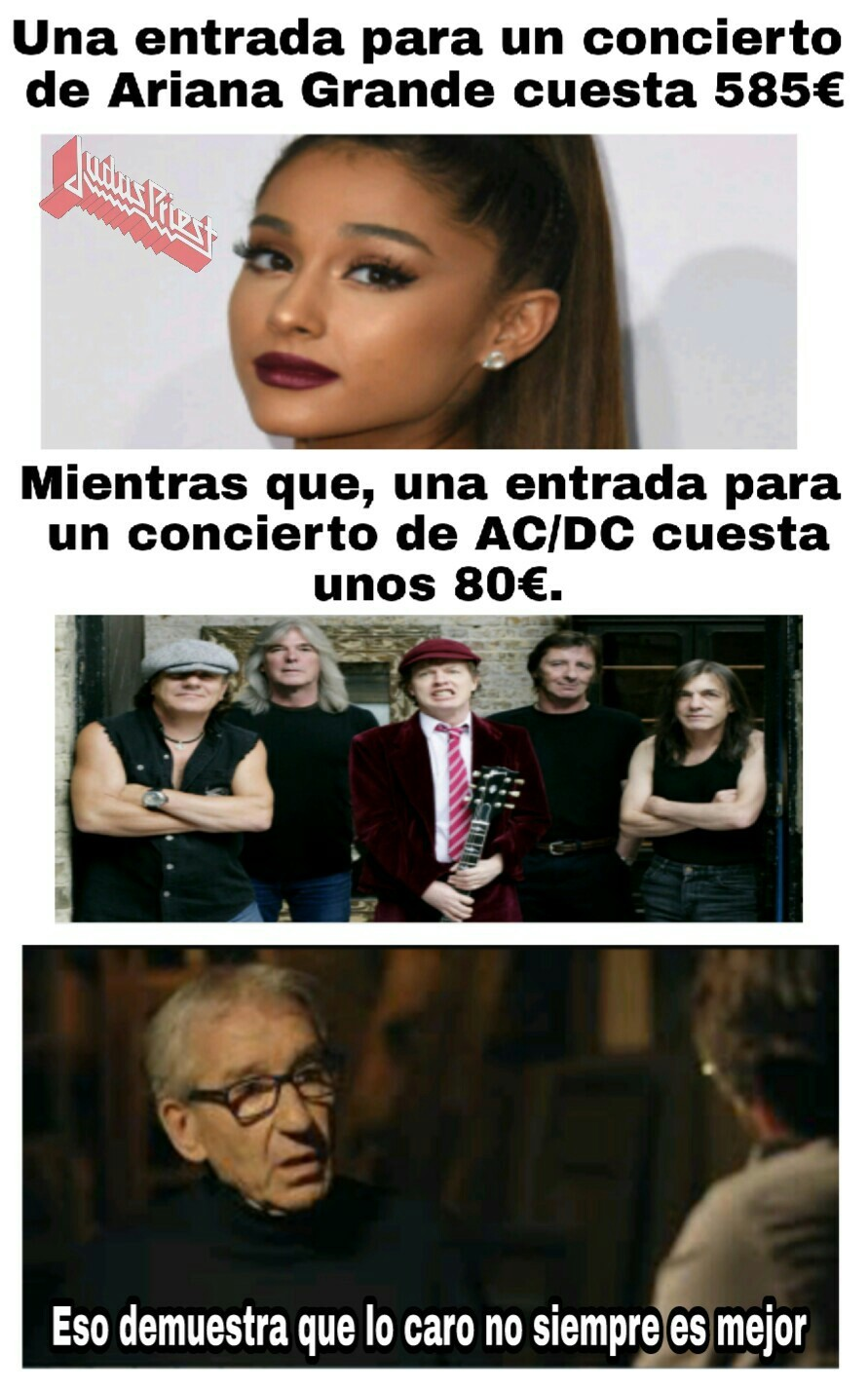 Larga vida al rock - meme