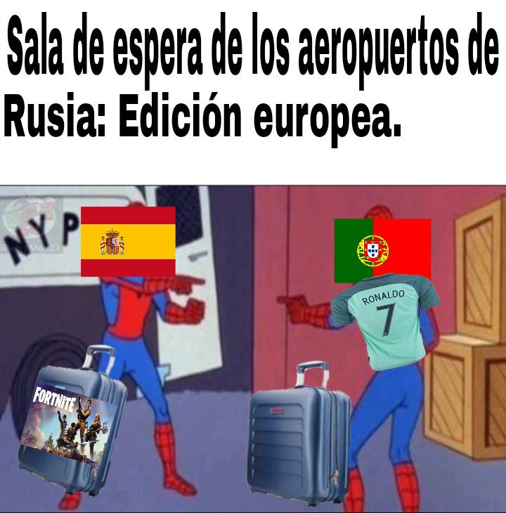 Meme con retraso... PD: Españoles no se ofendan