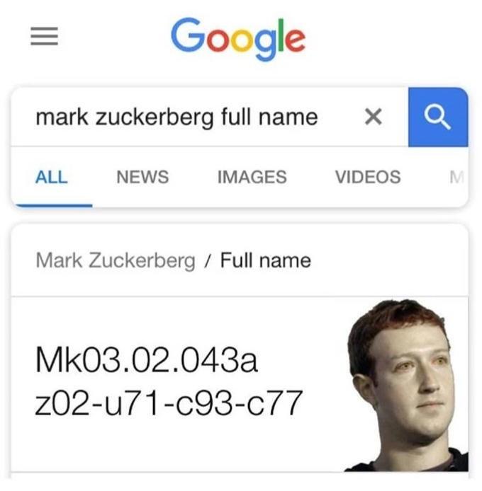 Just Zucc - meme