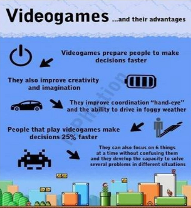 Video game advantage - meme