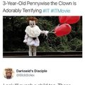 3-year-old Pennywise the Clown is Adorably Terrifying