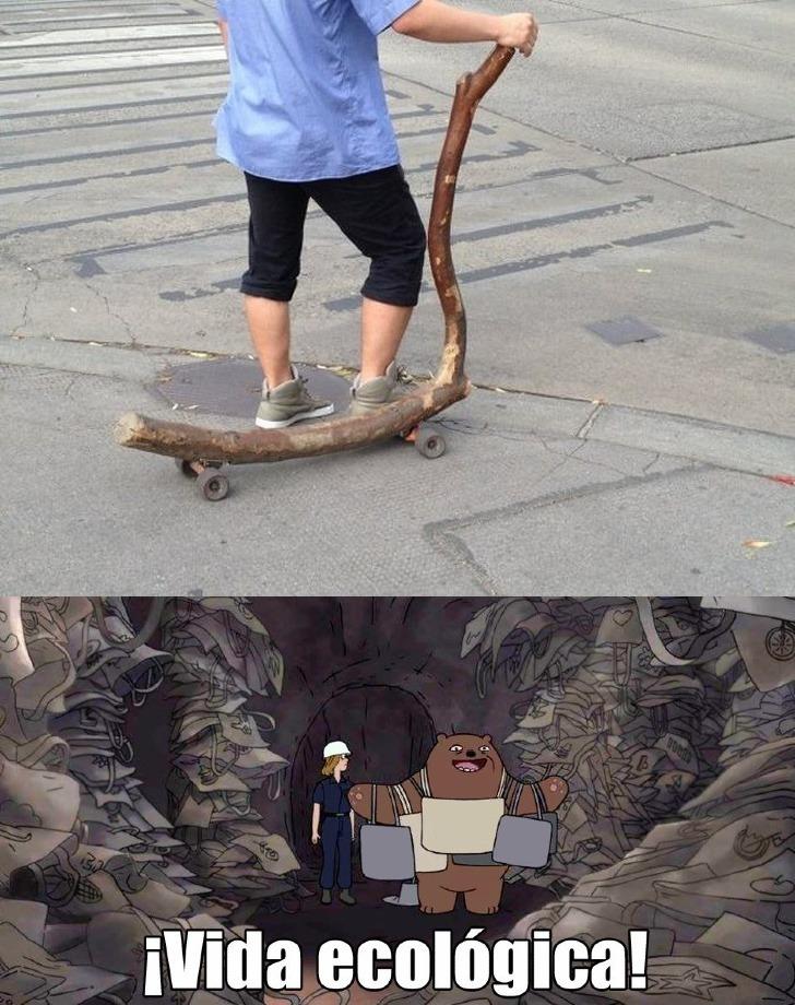 De madera - meme