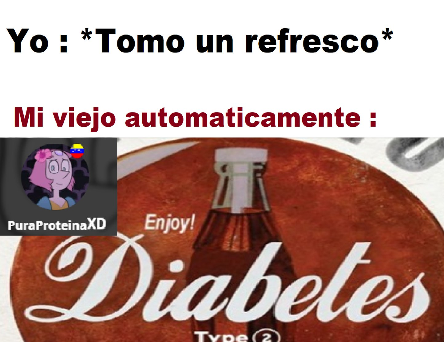 Momento Diabetes. - meme