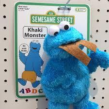 Khaki Monster - meme
