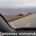 camiones mimiendo