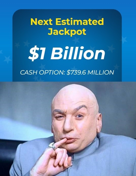 One billion dollars - meme