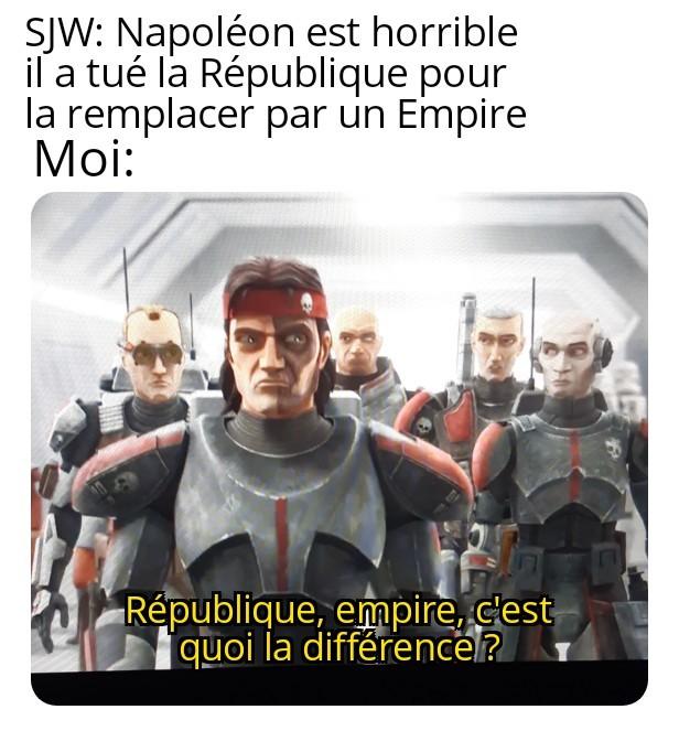 Star Wars :Bad batch  (deso pour la mauvaise qualité) - meme