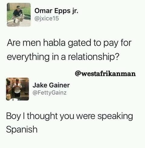 """""""Habla gated"""" lol xD - meme"""