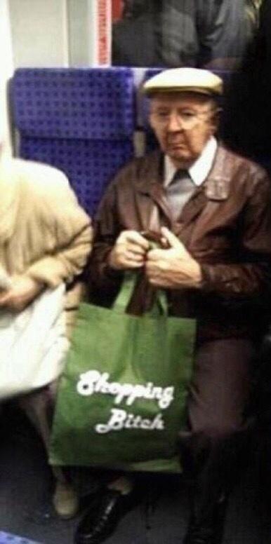 grandpas new bag