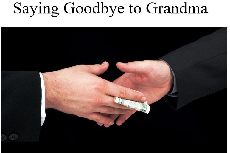 Grandma hustles - meme