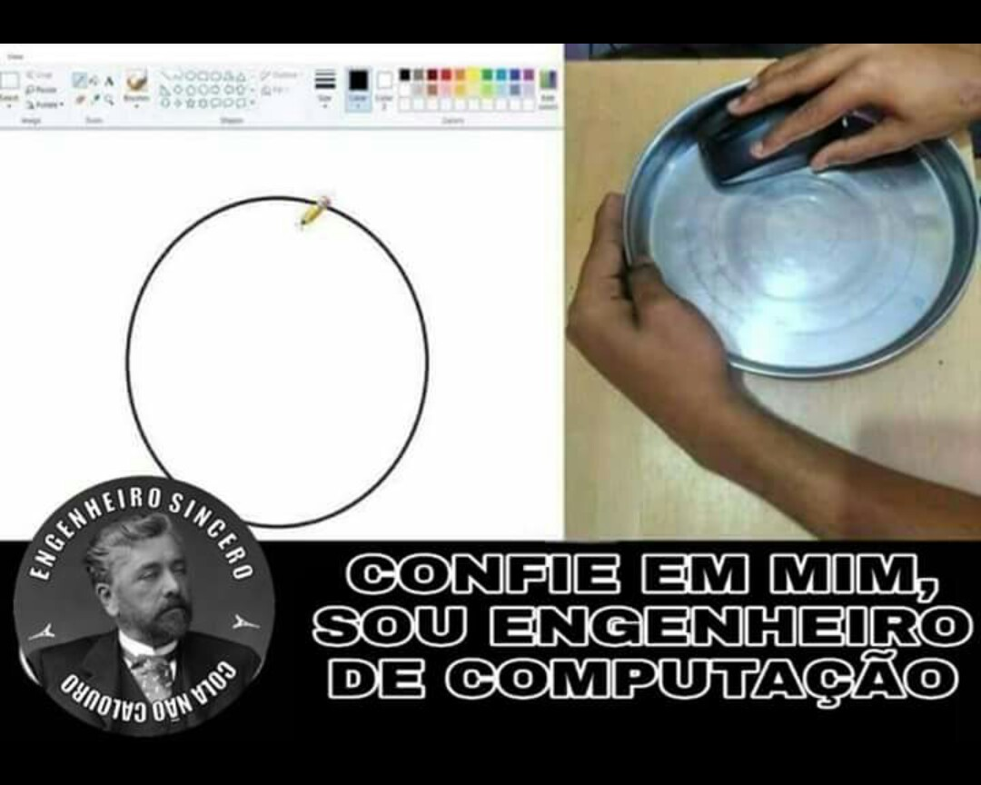 Desenhando o buraco da sua webnamorada - meme