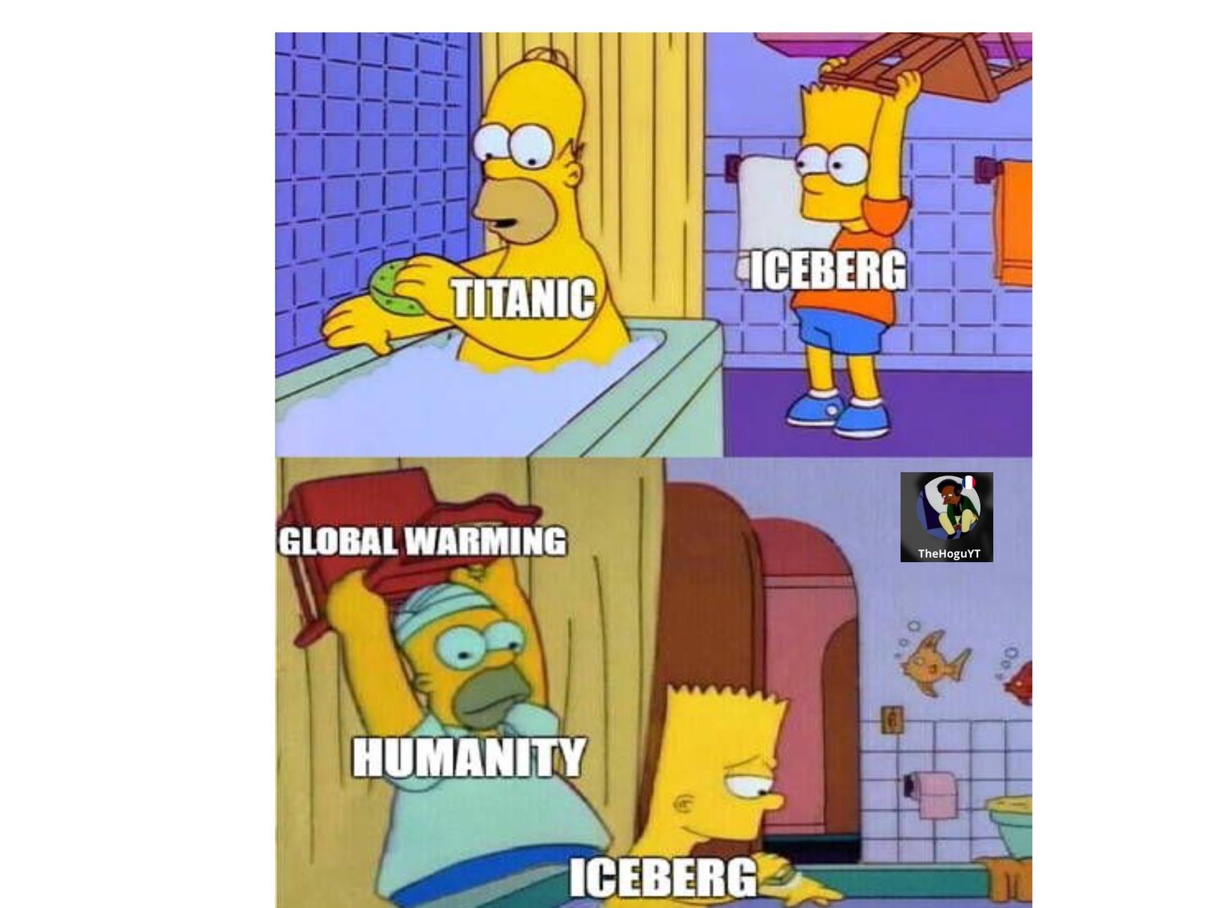 Pray for titanic - meme