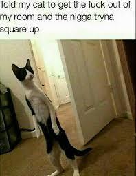 Square up nIgGa! - meme