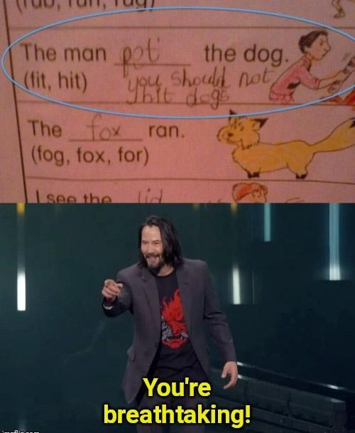 Nice kid - meme