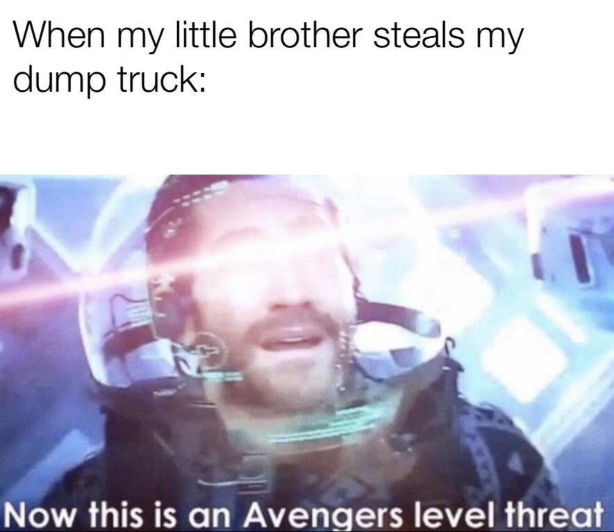 Avengers threat - meme