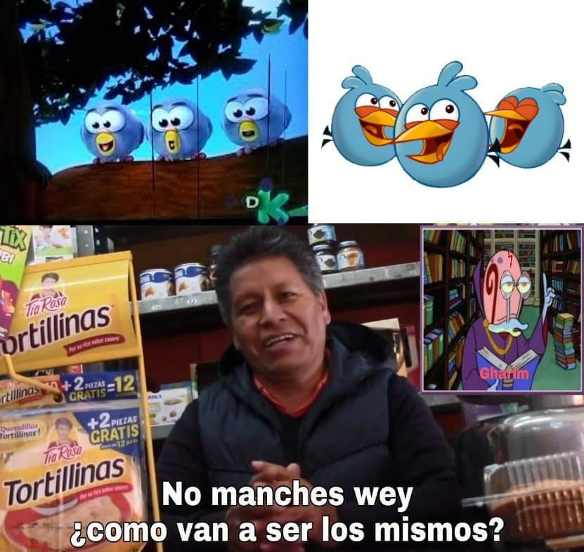 No son parecidos, ojalá les guste - meme