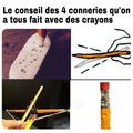 like si toi aussi t'as bouffé des crayons