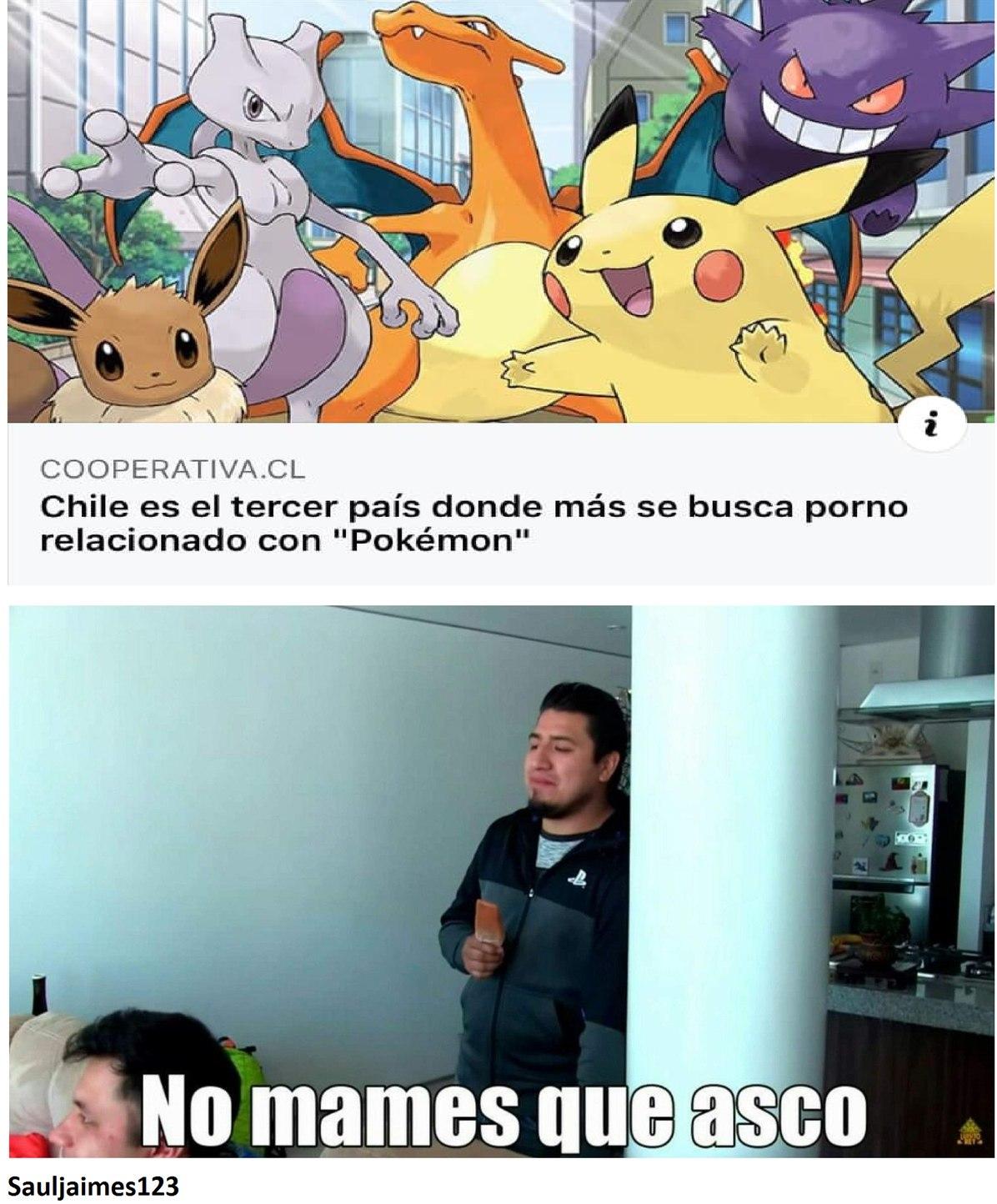 Los dos primeros son Perú y Bolivia - meme