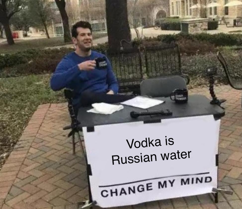 Russian Water - meme