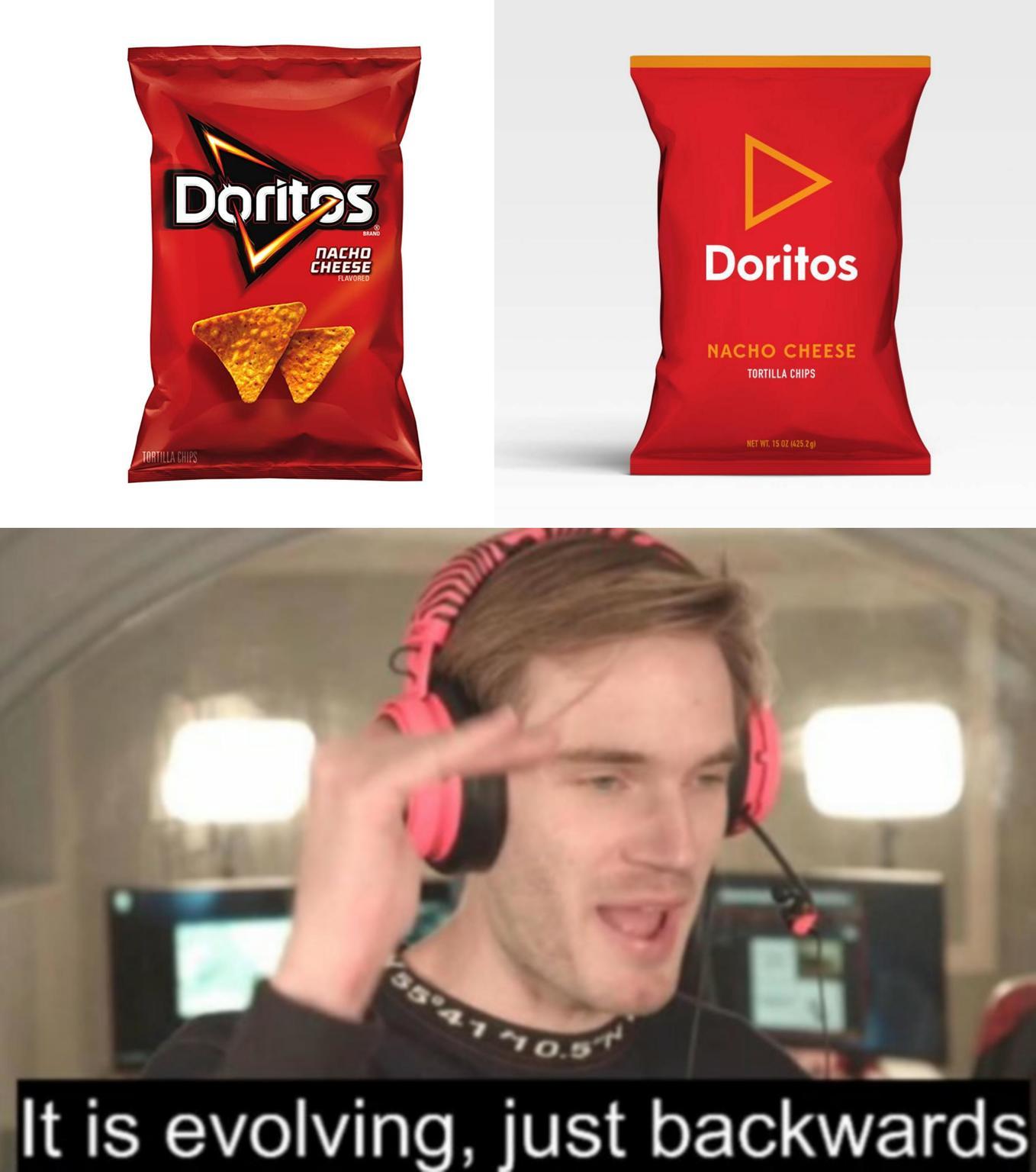 Downgrades people downgrades - meme