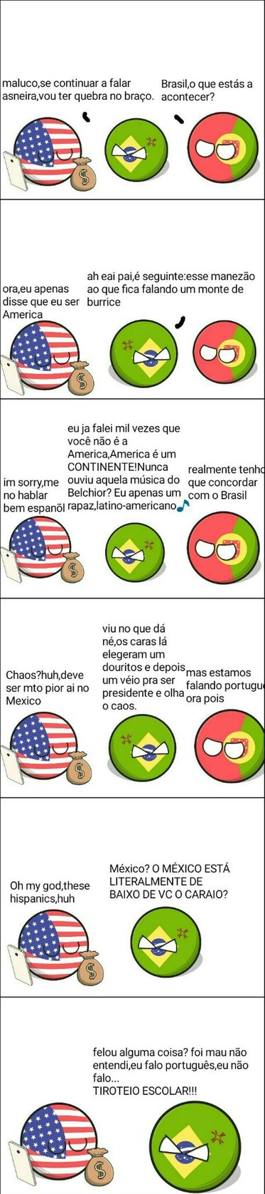 Country balls brigando - meme