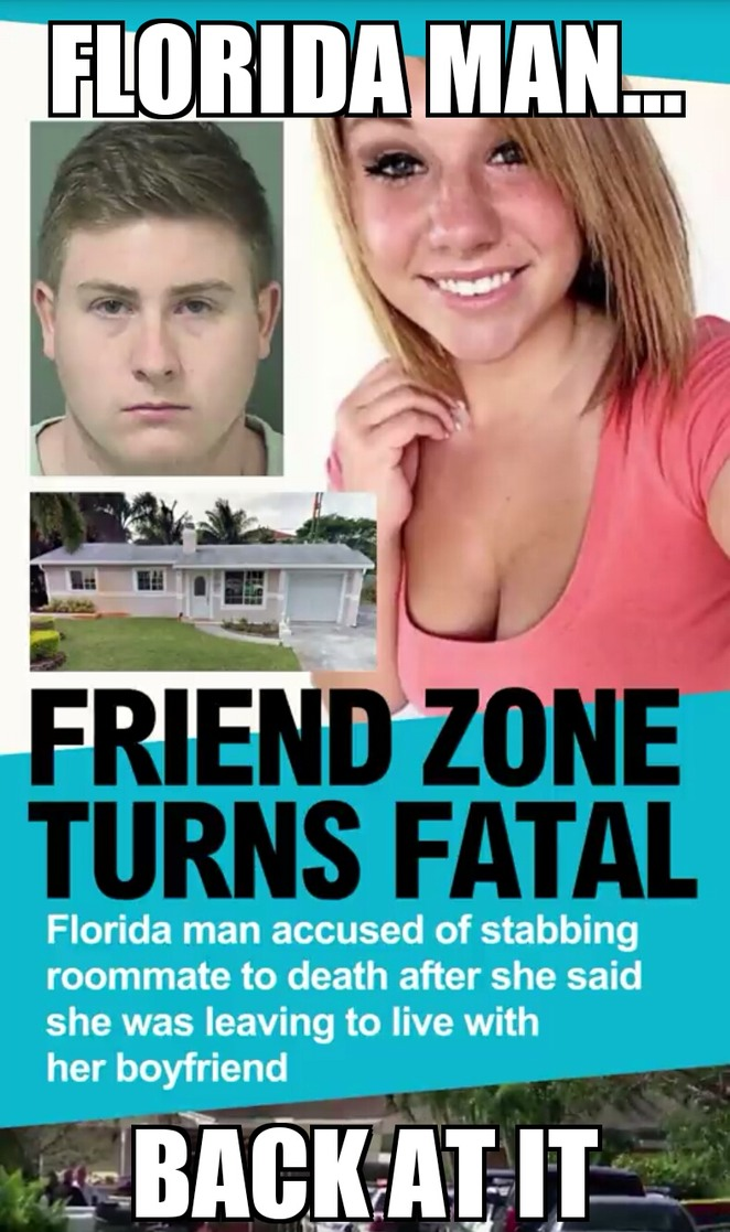 Oh, Florida man - meme