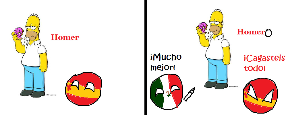 """""""Homer"""" ulala señor frances - meme"""
