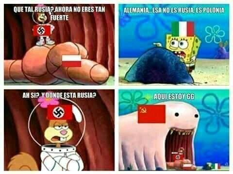 La historia resumida - meme