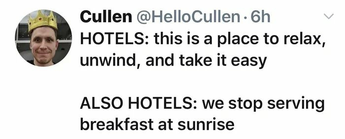 Wtf is wrong with damn hotels - meme
