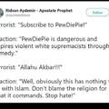 Religion of rape death pedophilia and hate