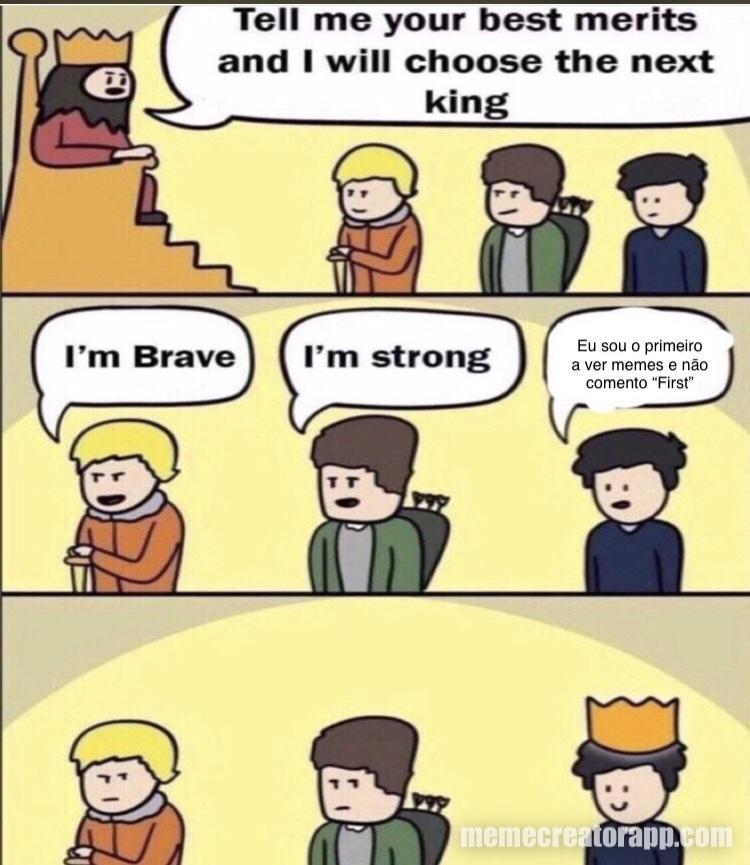 Um exemplo para as próximas gerações - meme