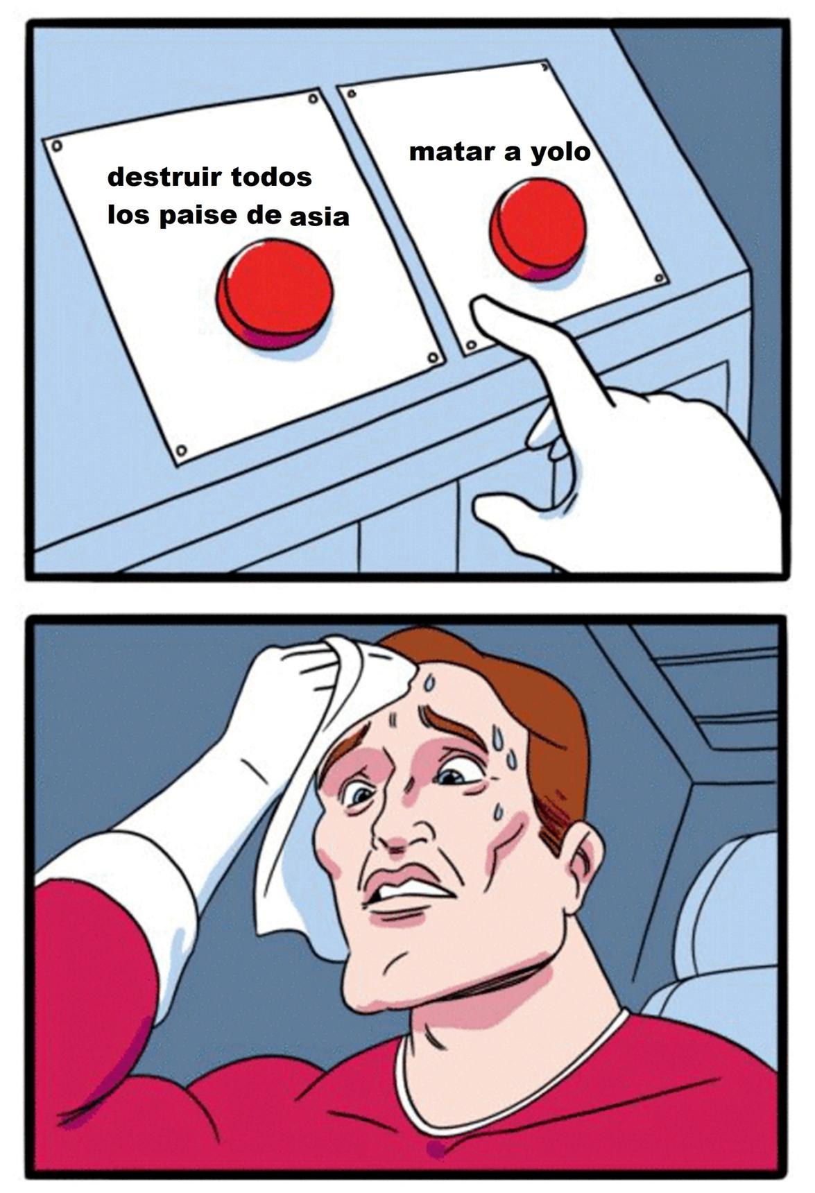 malditos asiaticos arruinaron asia - meme