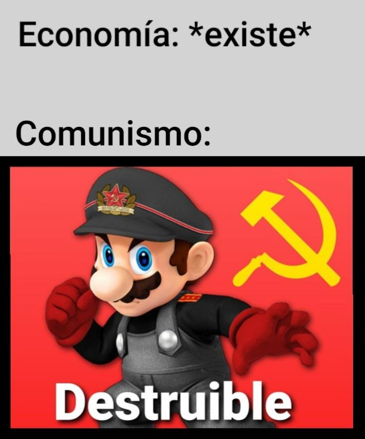 miles de vidas: *existen* comunismo: asesinable - meme