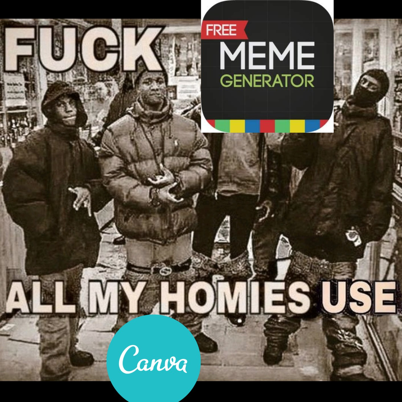 me gusta canva - meme