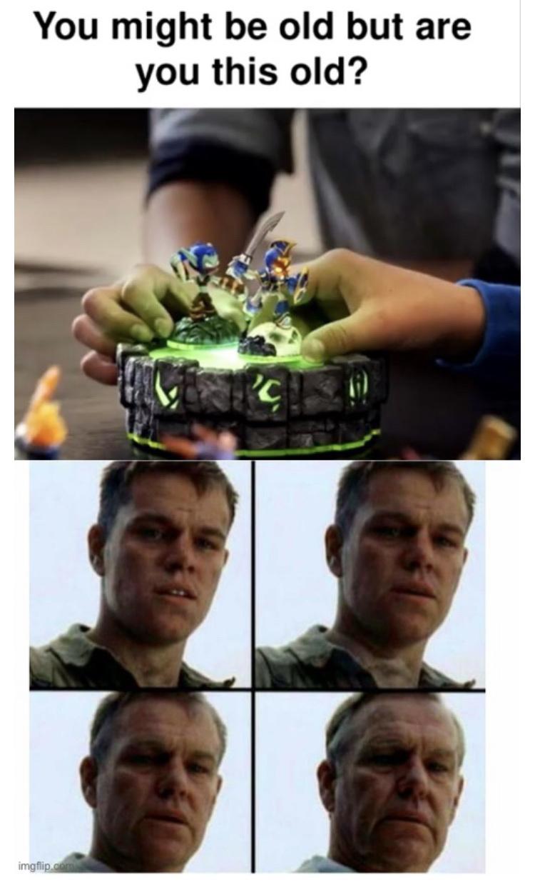 who else remembers Skylanders? - meme
