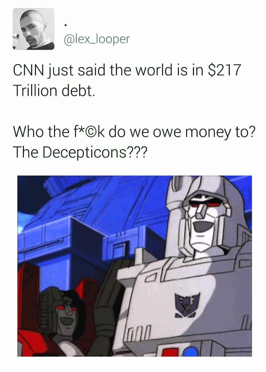 Those damn Decepticons! - meme