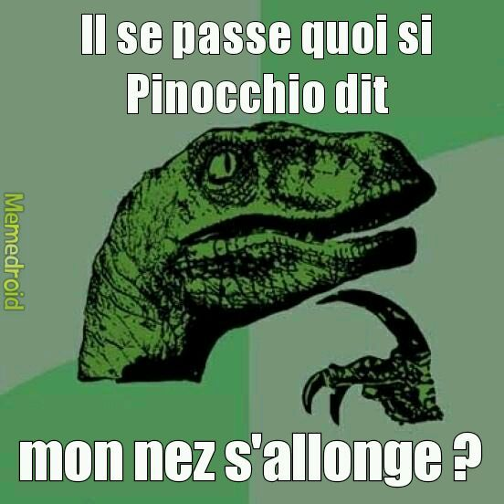 La question existentielle #1 - meme