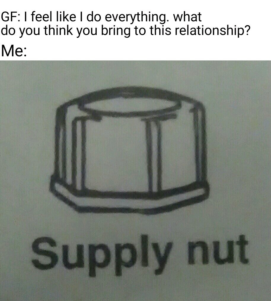Most important part of any relationship - meme