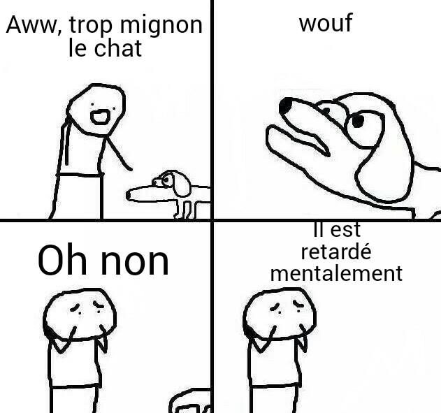 P.s c'est un chien - meme