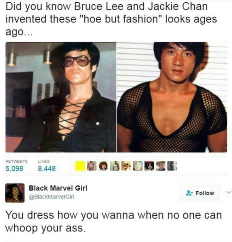 Dress how you want to when... - meme