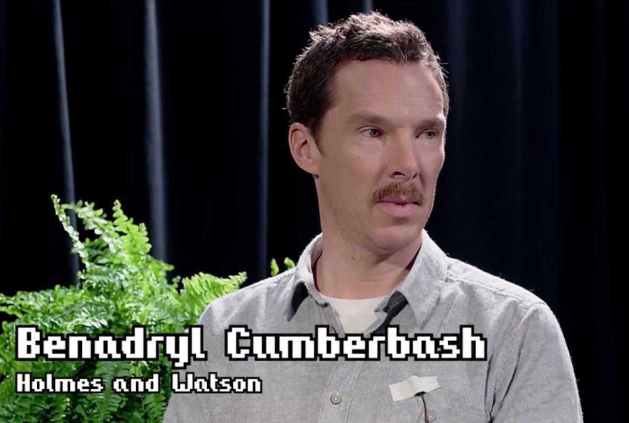 good ol benadryl cumberbatch - meme