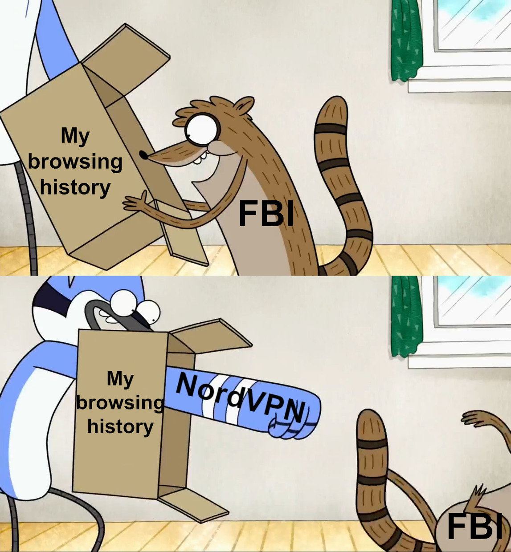Don't be so nosy next time - meme