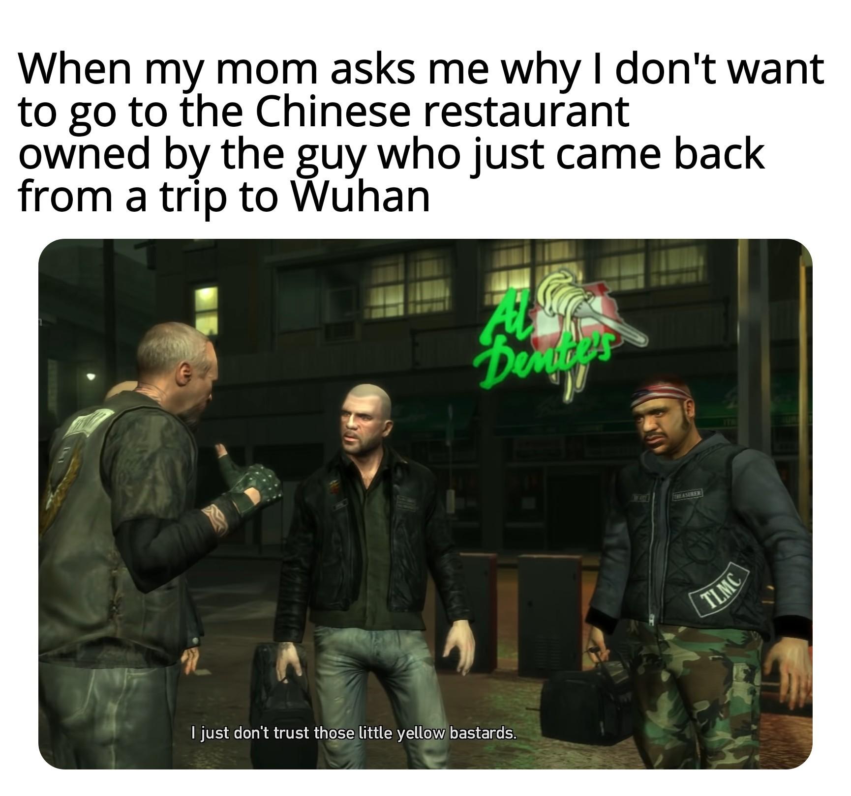 Dongs in a little yellow bastard - meme