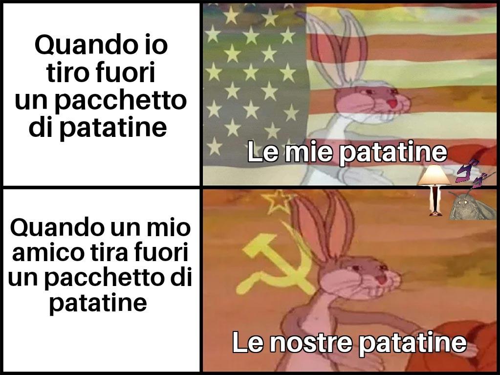 Buone le patatine - meme