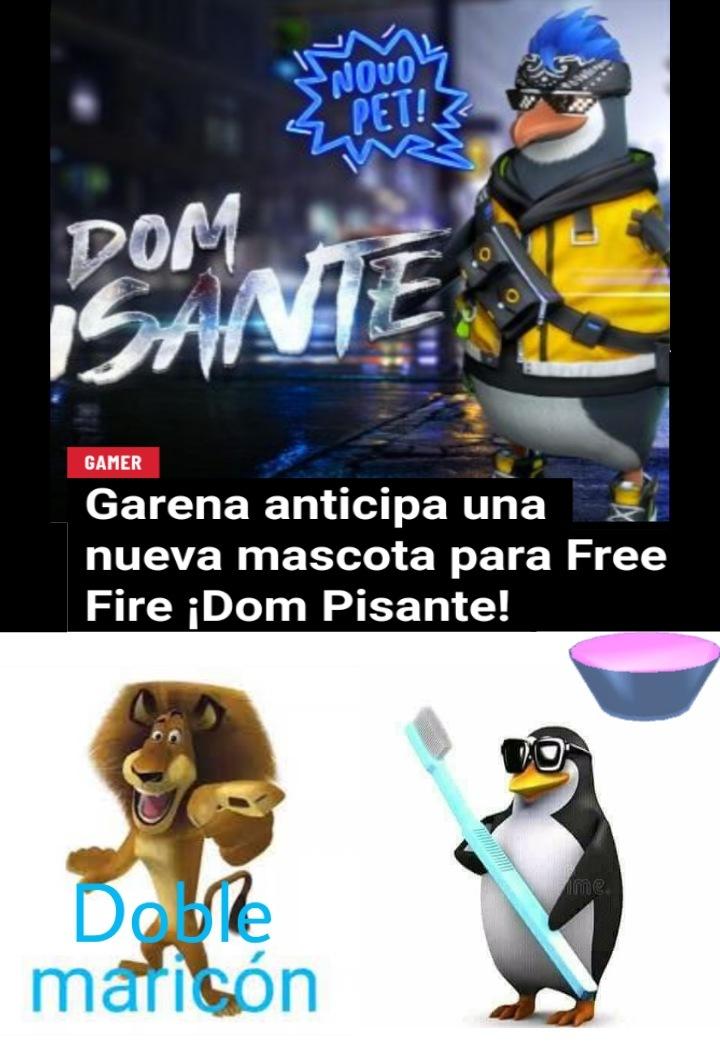 Pinche pingüino gay - meme