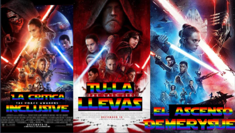 La trilogia resumida - meme