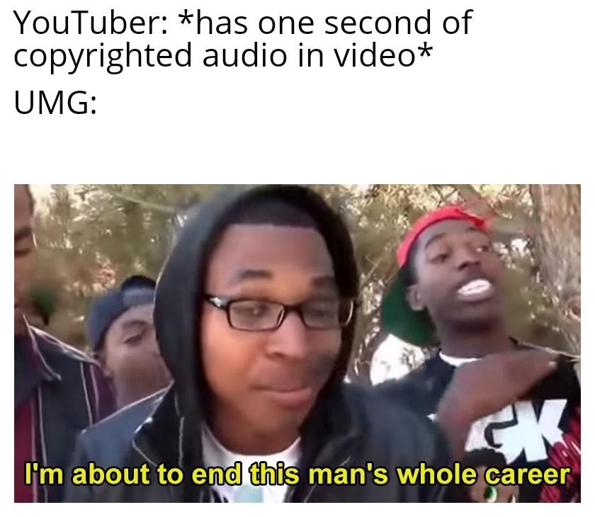 Dang UMG - meme