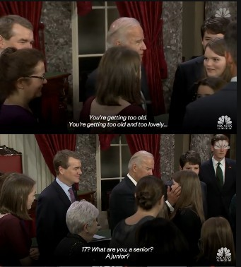 Joe's a pedo - meme