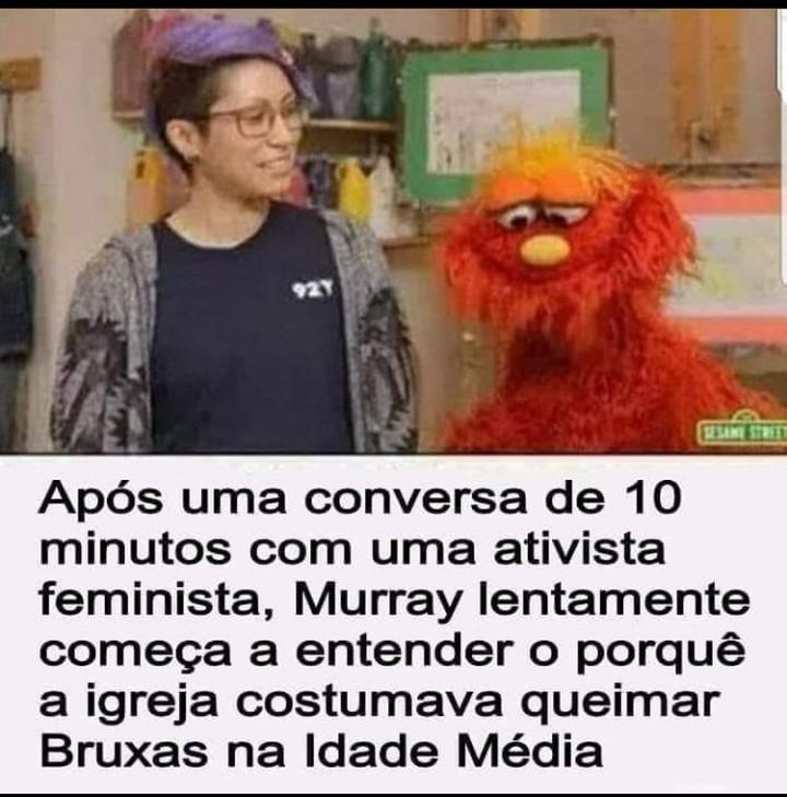Odiar feminista não é opção - meme